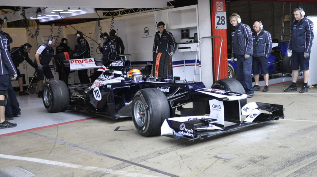 Formel 1-Test, Barcelona, 02.03.2012, Pastor Maldonado, Williams