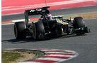 Formel 1-Test, Barcelona, 23.2.2012, Vitaly Petrov, Caterham