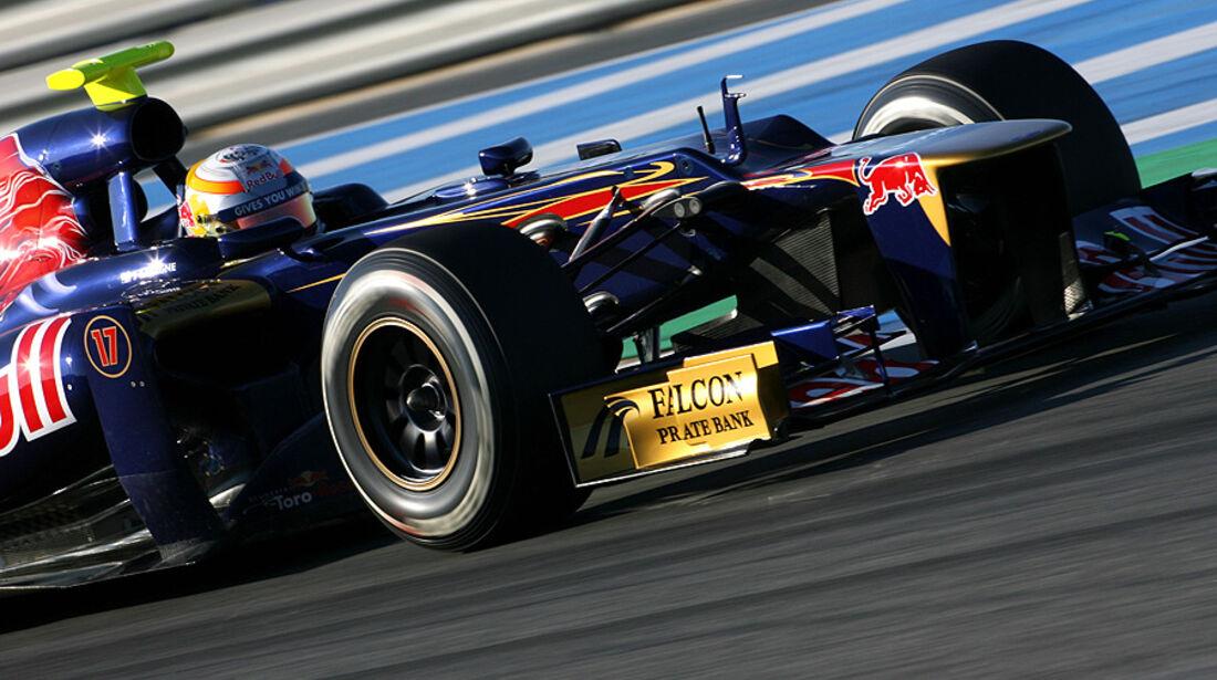 Formel 1-Test, Jerez, 10.2.2012, Jean-Eric Vergne, Toro Rosso