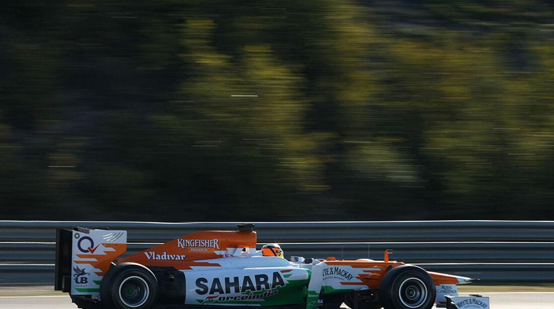 Formel 1-Test, Jerez, 10.2.2012, Nico Hülkenberg, Force India