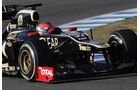 Formel 1-Test, Jerez, 10.2.2012, Romain Grosjean, Lotus Renault GP