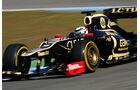 Formel 1-Test, Jerez, 8.2.2012, Kimi Räikkönen, Lotus Renault GP