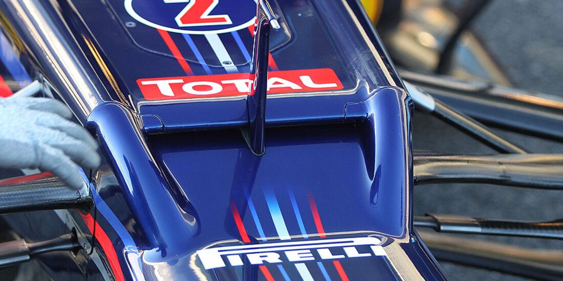 Formel 1-Test, Jerez, 8.2.2012, Mark Webber, Red Bull