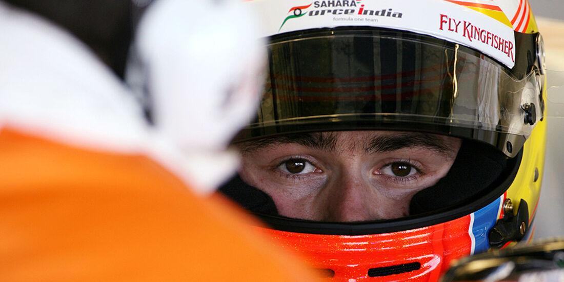 Formel 1-Test, Jerez, 8.2.2012, Paul di Resta, Force India