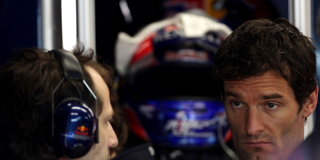 Formel 1-Test, Mugello, 02.05.2012, Mark Webber, Red Bull