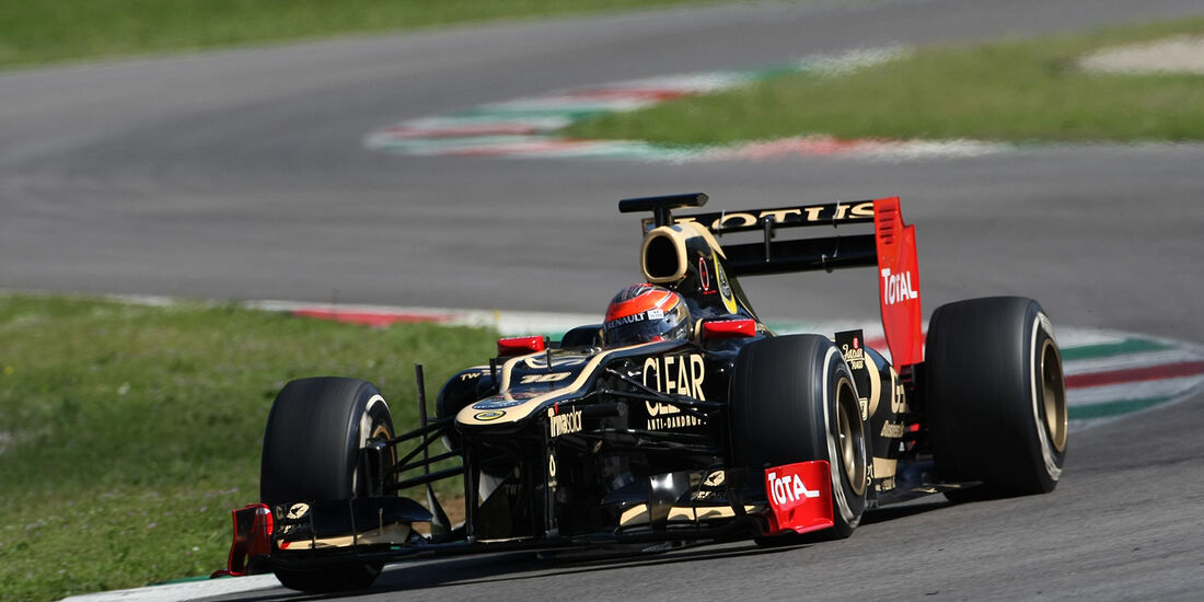 Formel 1-Test, Mugello, 02.05.2012, Romain Grosjean, Lotus Renault GP