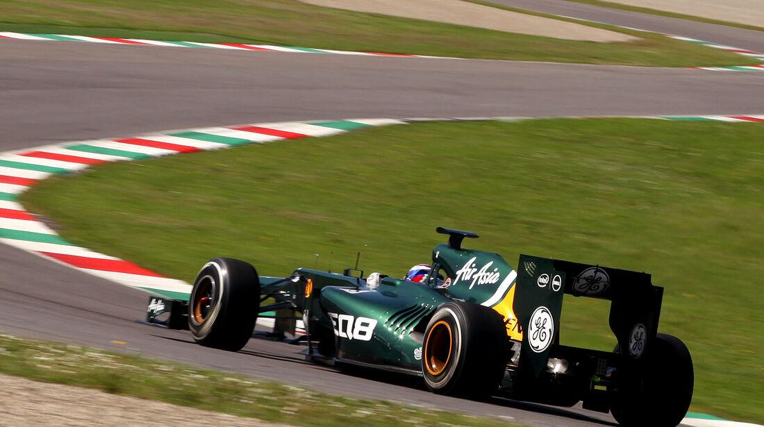 Formel 1-Test, Mugello, 02.05.2012, Vitaly Petrov, Caterham