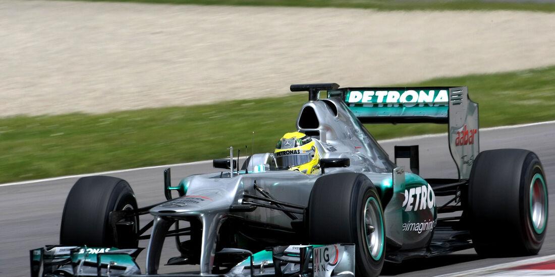 Formel 1-Test, Mugello, 03.05.2012, Nico Rosberg, Mercedes GP