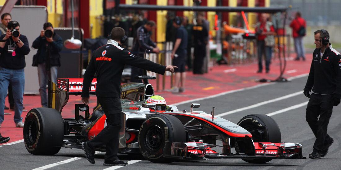 Formel 1-Test, Mugello, 03.05.2012, Oliver Turvey, McLaren