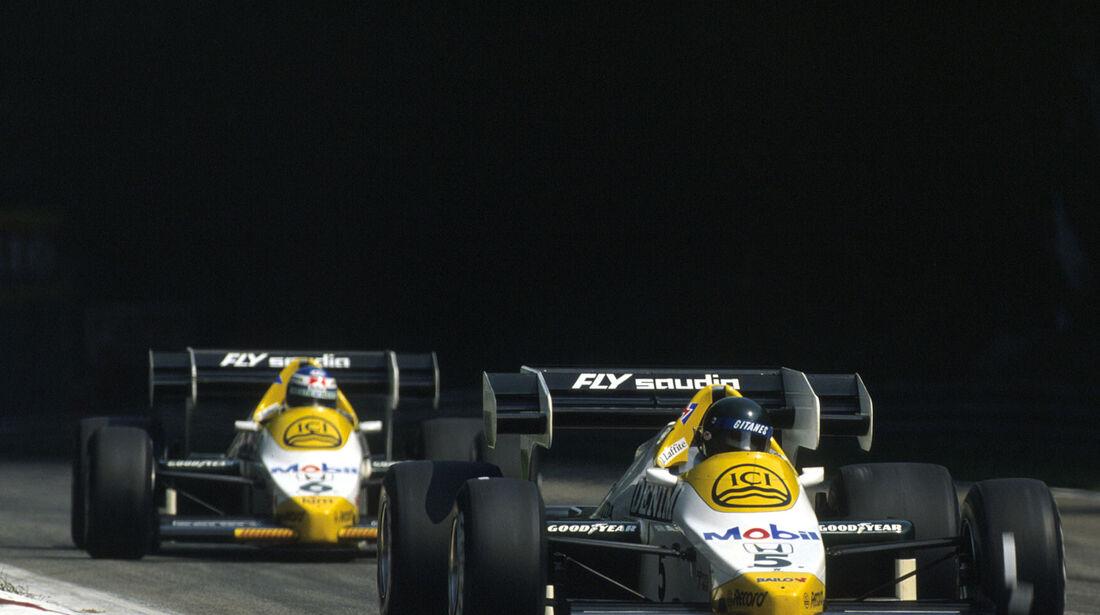 Formel 1 - Williams FW09 - V6-Turbo - Honda - 1985