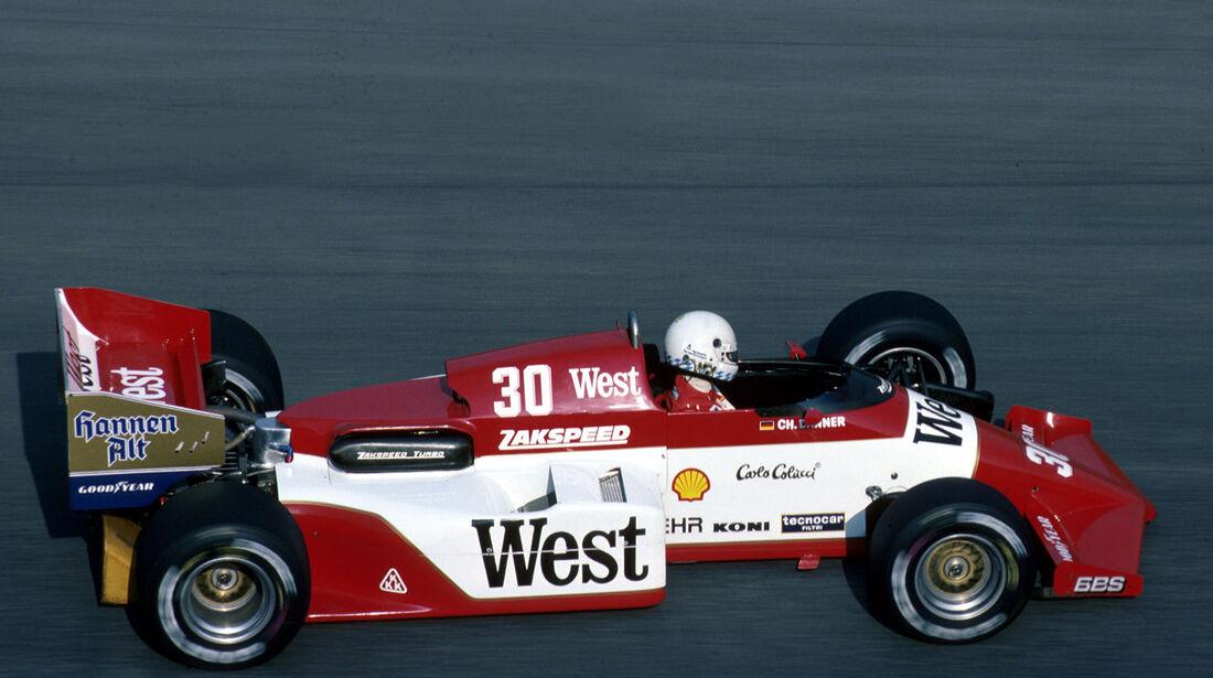 Formel 1 - Zackspeed 841 - R4-Turbo