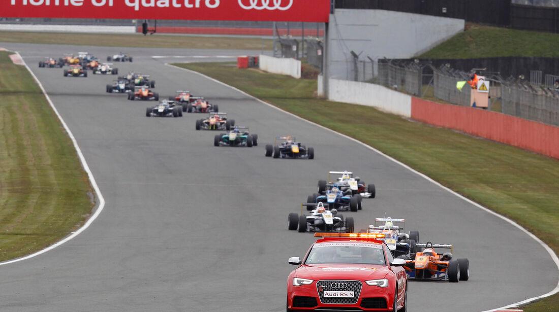 Formel 3 Silverstone 2013 Safety-Car