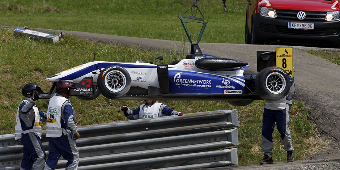 Formel 3 Spielberg 2012, Rennen 3, Andrea Roda