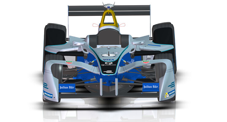 Formel E 2017 - Neuer Frontflügel