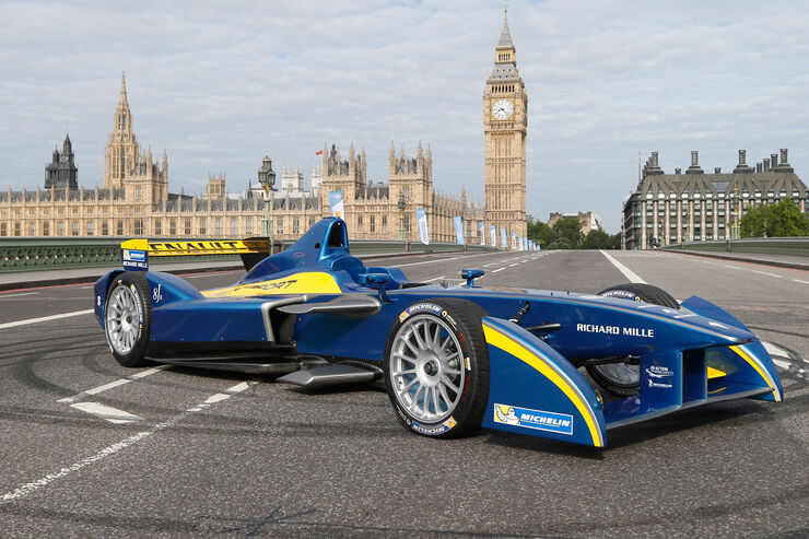 Formel E - Launch London 2014