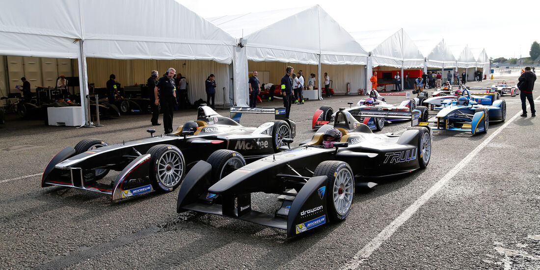 Formel E - Test Donington 2014