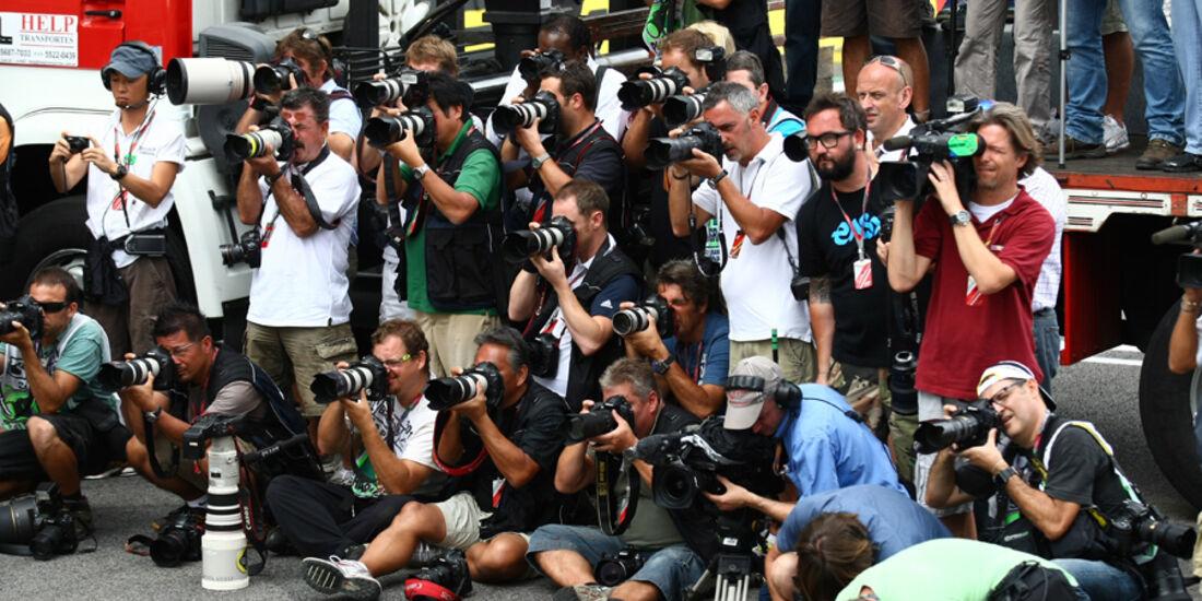 Fotografen GP Brasilien 2011