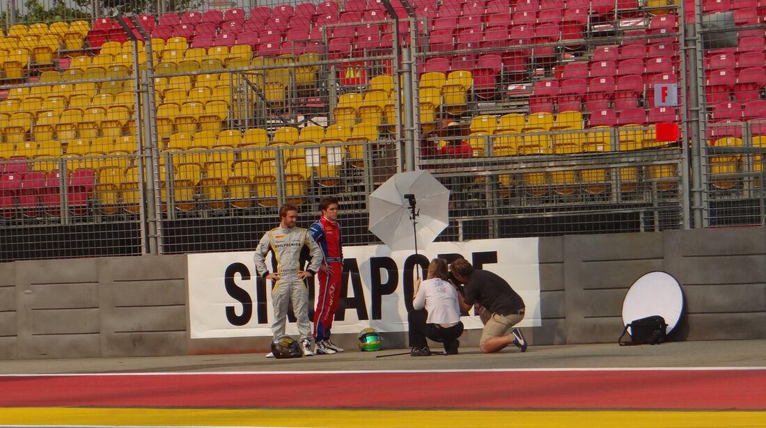 Fotoshooting - Formel 1 - GP Singapur - 20. September 2012