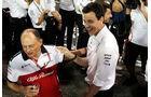 Frederic Vasseur & Toto Wolff - Formel 1 - GP Abu Dhabi  -24. November 2018