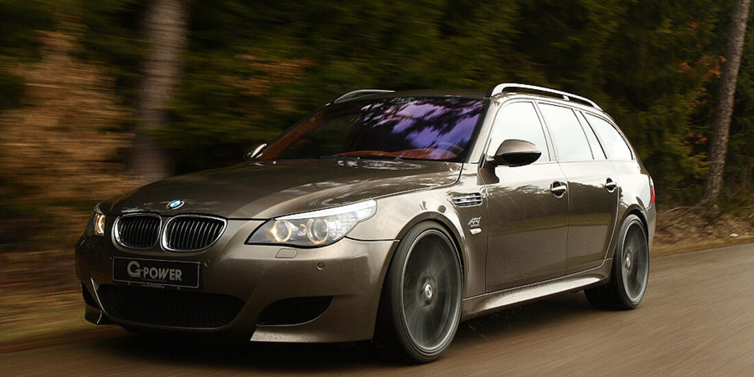 G-Power Hurricane RS Touring auf Basis BMW M5 E61 Touring