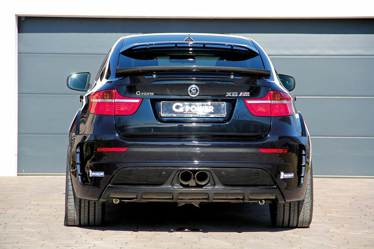 g power bmw x6 m typhoon tropensturm mit 725 ps auto motor und sport. Black Bedroom Furniture Sets. Home Design Ideas