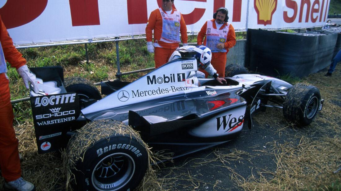 GP Brasilien 1999 Coulthard