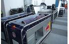 GP Brasilien Logistik Boxen Red Bull