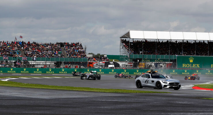 GP England 2016 - Start - Safety Car - Silverstone