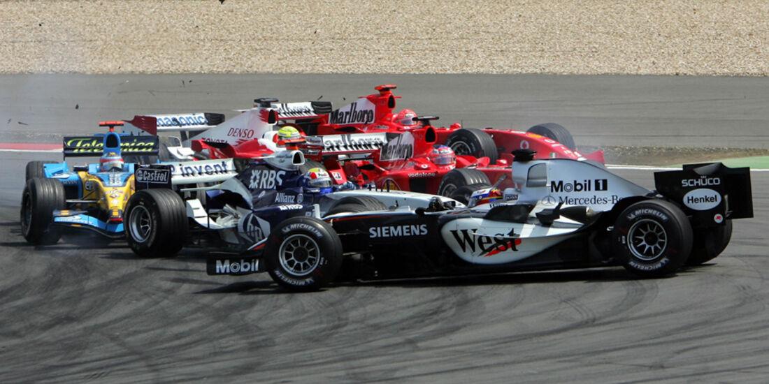 GP Europa 2005 Montoya