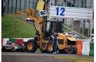 GP Japan 2014 - Unfall Bianchi