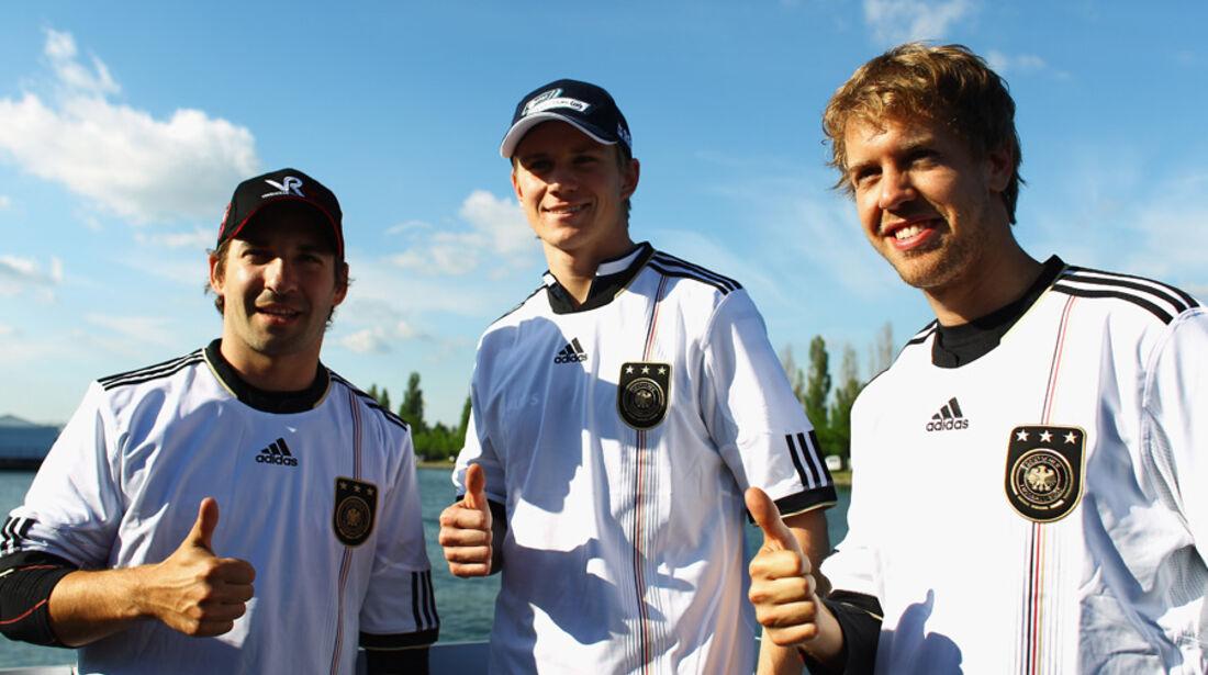 GP Kanada 2010 Deutsche Fahrer