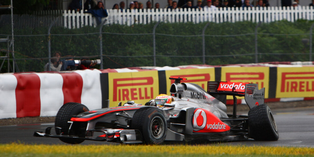 GP Kanada 2011 Hamilton Crash