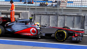 GP Korea 2012 Lewis Hamilton