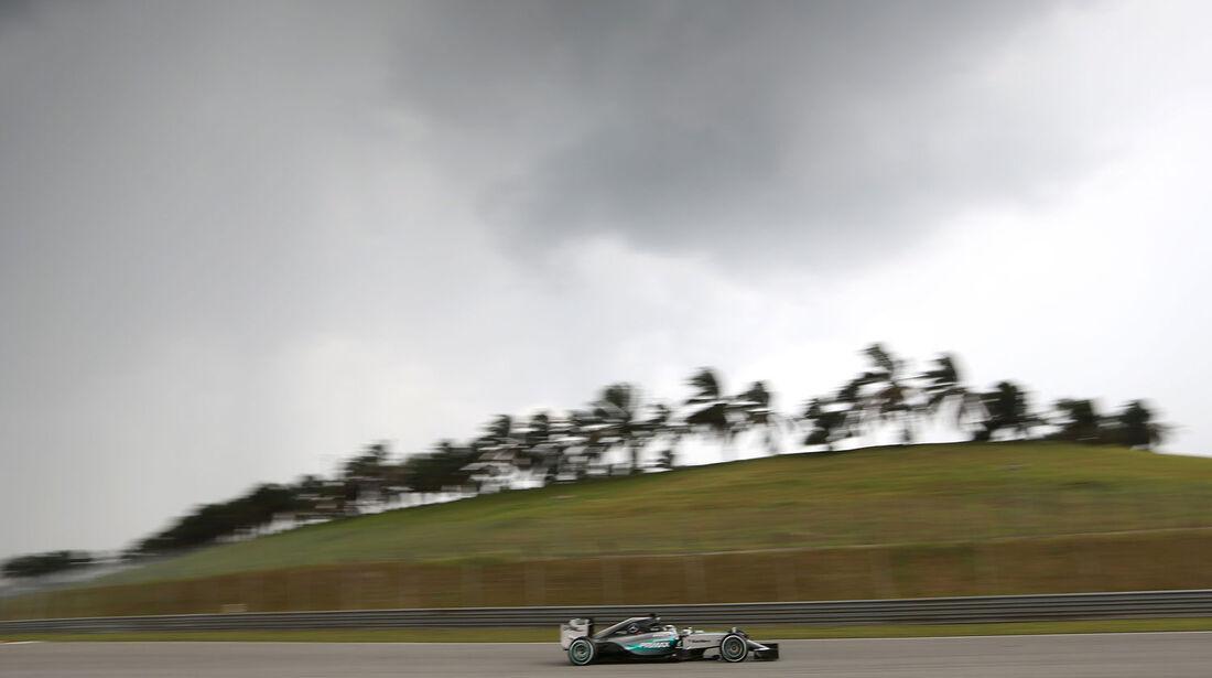 GP Malaysia - Lewis Hamilton - Mercedes - Qualifikation - Samstag - 28.3.2015