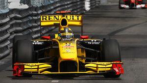 GP Monaco 2010 Robert Kubica Renault