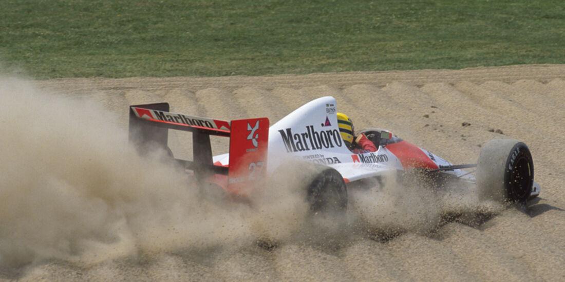 GP San Marino 1990 Senna Crash