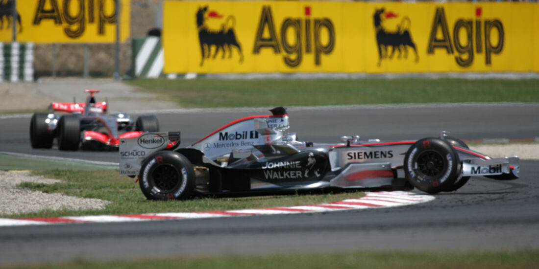 GP Spanien 2006 Montoya