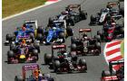 GP Spanien 2015 - Startphase - Rennen - Sonntag - 10.5.2015