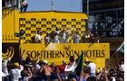 GP Südafrika 1983 - Riccardo Patrese - Nelson Piquet - Andrea de Cesaris - Formel 1