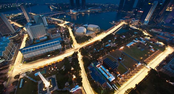 GP Tagebuch 2012 - Singapur