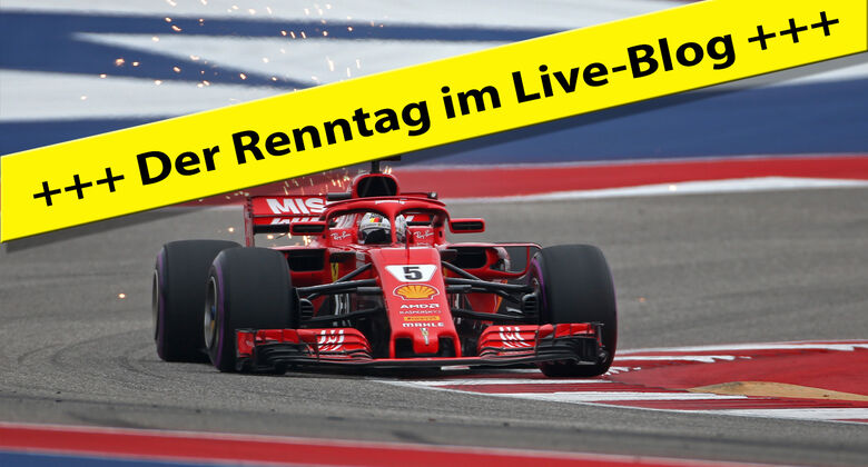 GP USA - Live-Blog - Teaser - F1 2018
