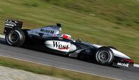 Gary Paffett Mercedes 2002 McLaren F1