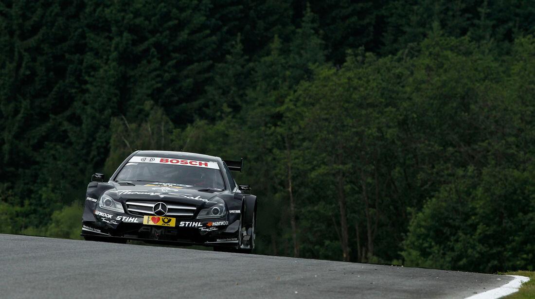 Gary Paffett Mercedes DTM Spielberg 2012