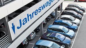 Gebrauchtwagenhändler, Fahrzeuge