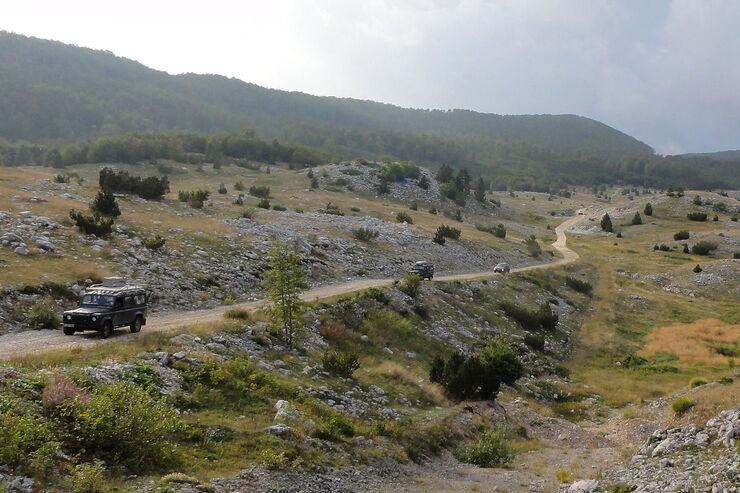Geländewagentour Piemont-Ligurien