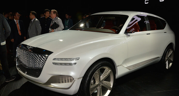Genesis GV80 Fuel Cell Concept