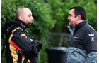 Gerard Lopez & Eric Boullier - Formel 1 - GP China - Shanghai - 19. April 2014