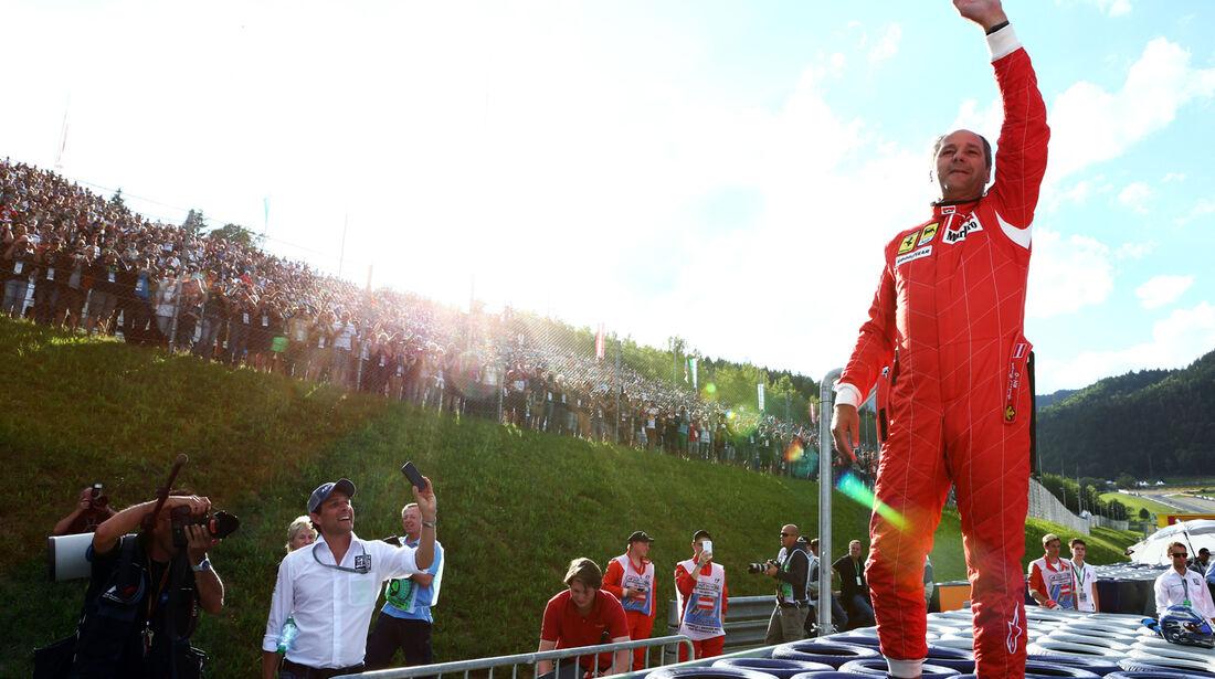 Gerhard Berger - GP Österreich 2014 - Legenden