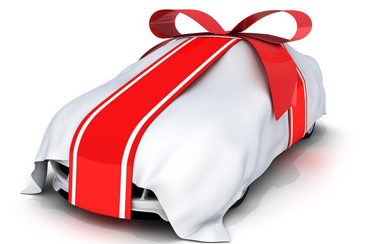 Geschenk Auto Weihnachten