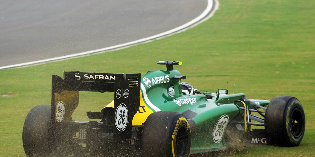 Giedo van der Garde - Caterham - Formel 1 - GP Indien - 27. Oktober 2013